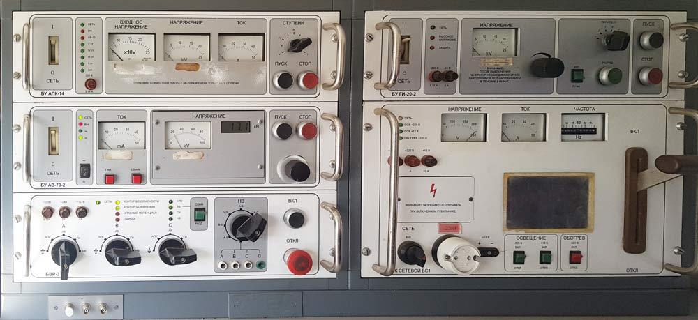 Оборудование кабельной лаборатории