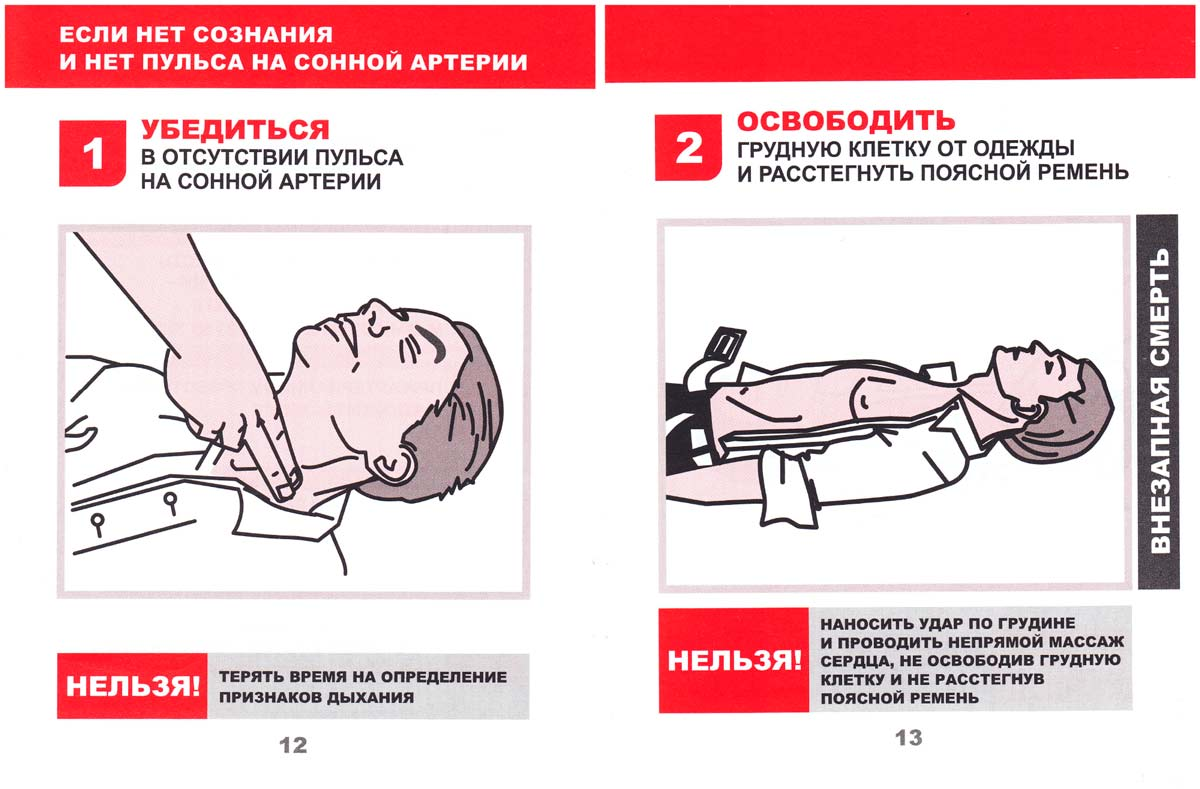 Межотраслевая инструкция по оказанию первой помощи