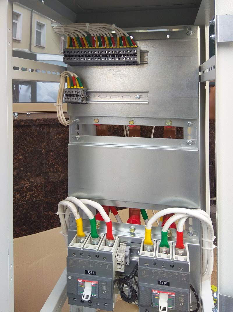 Применение термоусаживаемой трубки при сборке электрощитов