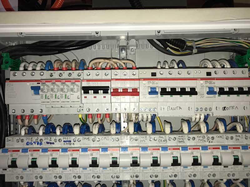 УЗО на 300 мА на вводе защита от пожара