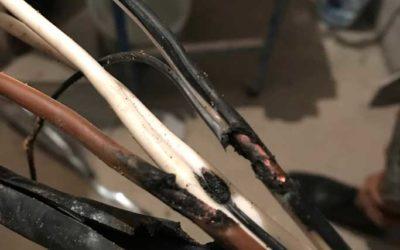 Основные причины возгорания электропроводки