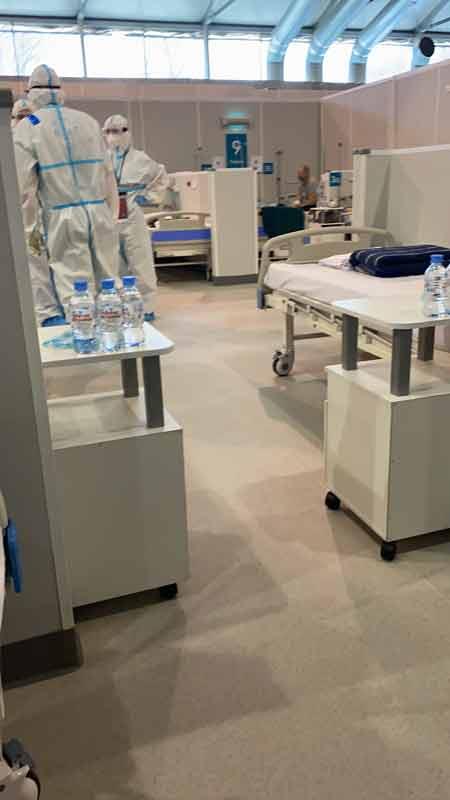 лечение коронавируса в госпитале в сокольниках