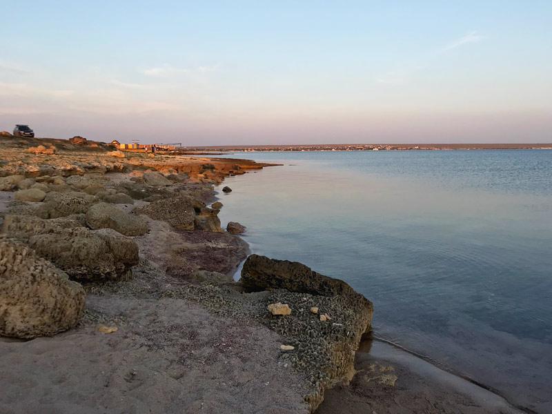 Дикие места в Оленевке, Крым