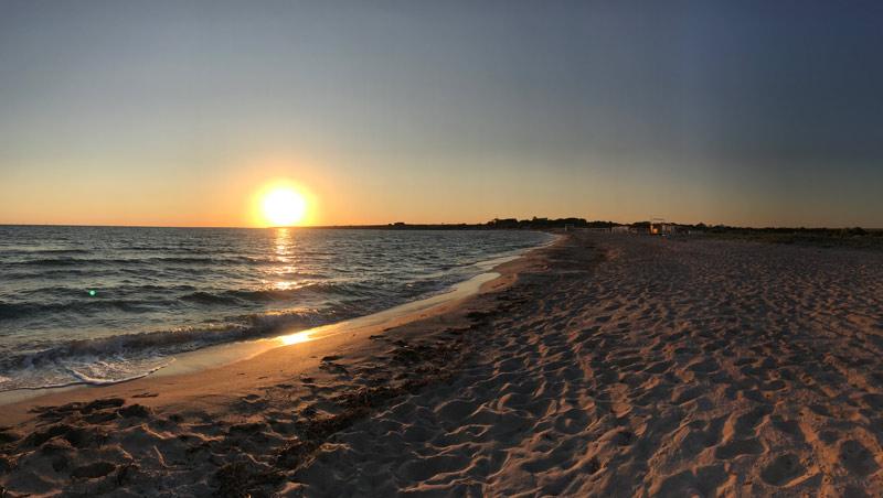 Пляж Оленевка, Крым