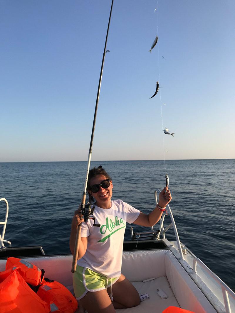 Рыбалка в Оленевке